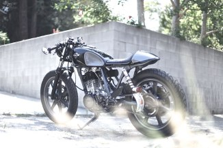 Tailored by Chappell Customs, this Japanese fireball is built for one tough nut!