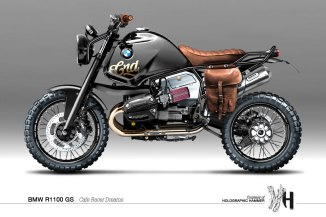 BMW R1100 GS Holographic Hammer