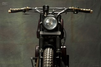 The Royal Enfield Scrambler by Bull City Customs India