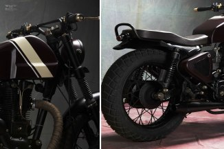 The Royal Enfield Scrambler by Bull City Cycles India