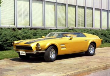 Ford Mustang Conceito Allegro II 1967