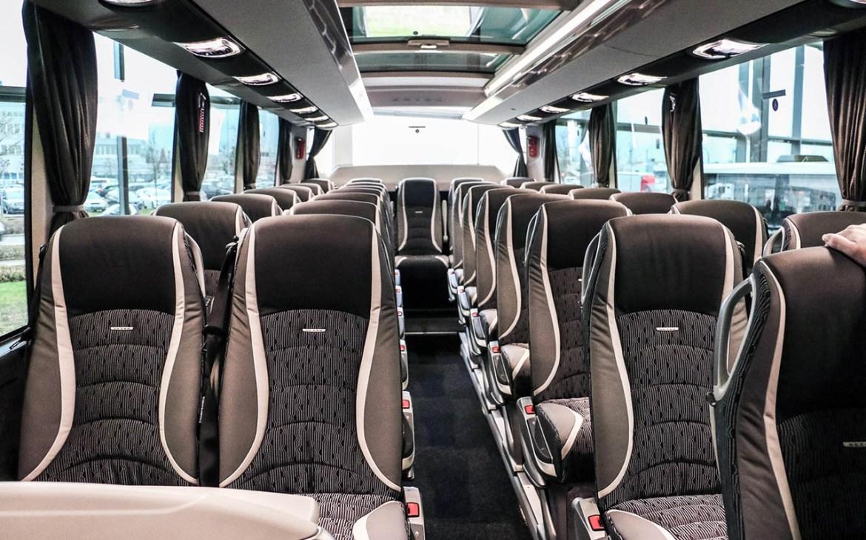 Setra TopClass 500 kommt in Portugal an