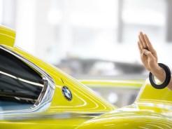 Der neue BMW 3.0 CSL Hommage – Feinarbeit an der Designstudie.