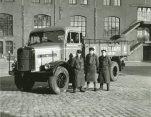 Oktoberfest 1956, MAN Lkw Typ 735 der Spaten Brauerei