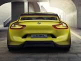 Der neue BMW 3.0 CSL Hommage – breites Heck mit außergewöhnlichen Rückleuchten.