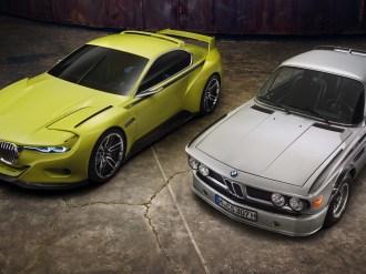 Der neue BMW 3.0 CSL Hommage – Original und Hommage.