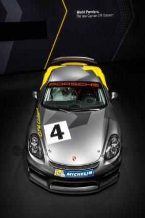 Porsche Cayman GT4 Clubsport