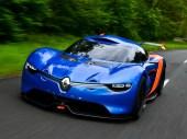 2012: Studie Alpine A110-50 zum 50. Geburtstag des kompromisslosen Sportlers Alpine A 110. (Werksfoto)