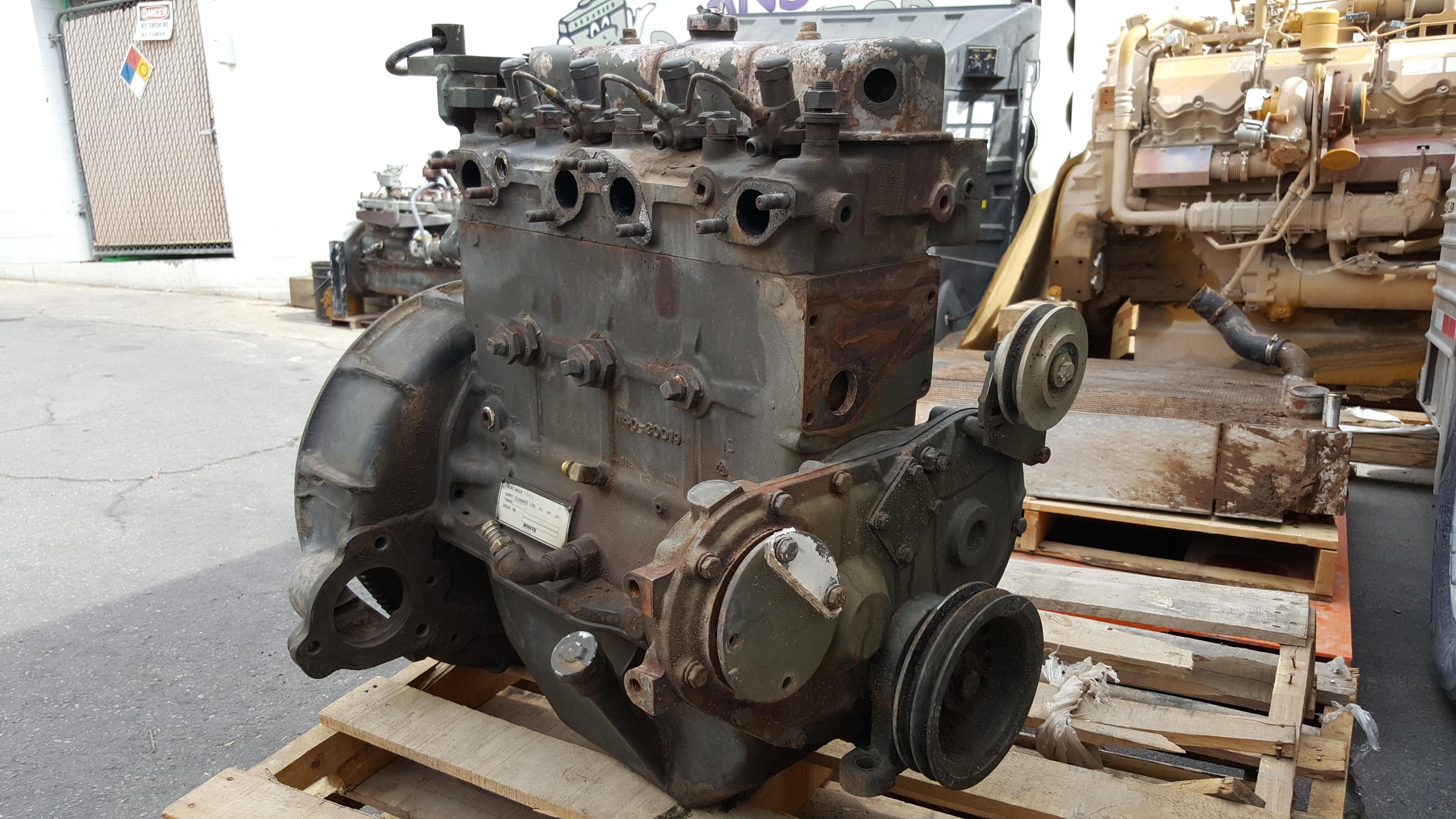 White Hercules Engine