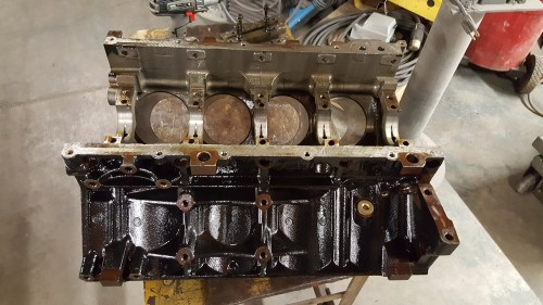 small resolution of this is a chevy gm ls lq9 6 0 liter cast iron v8 engine cylinder block we did a bore hone to all 8 cylinders and finished them for a new set
