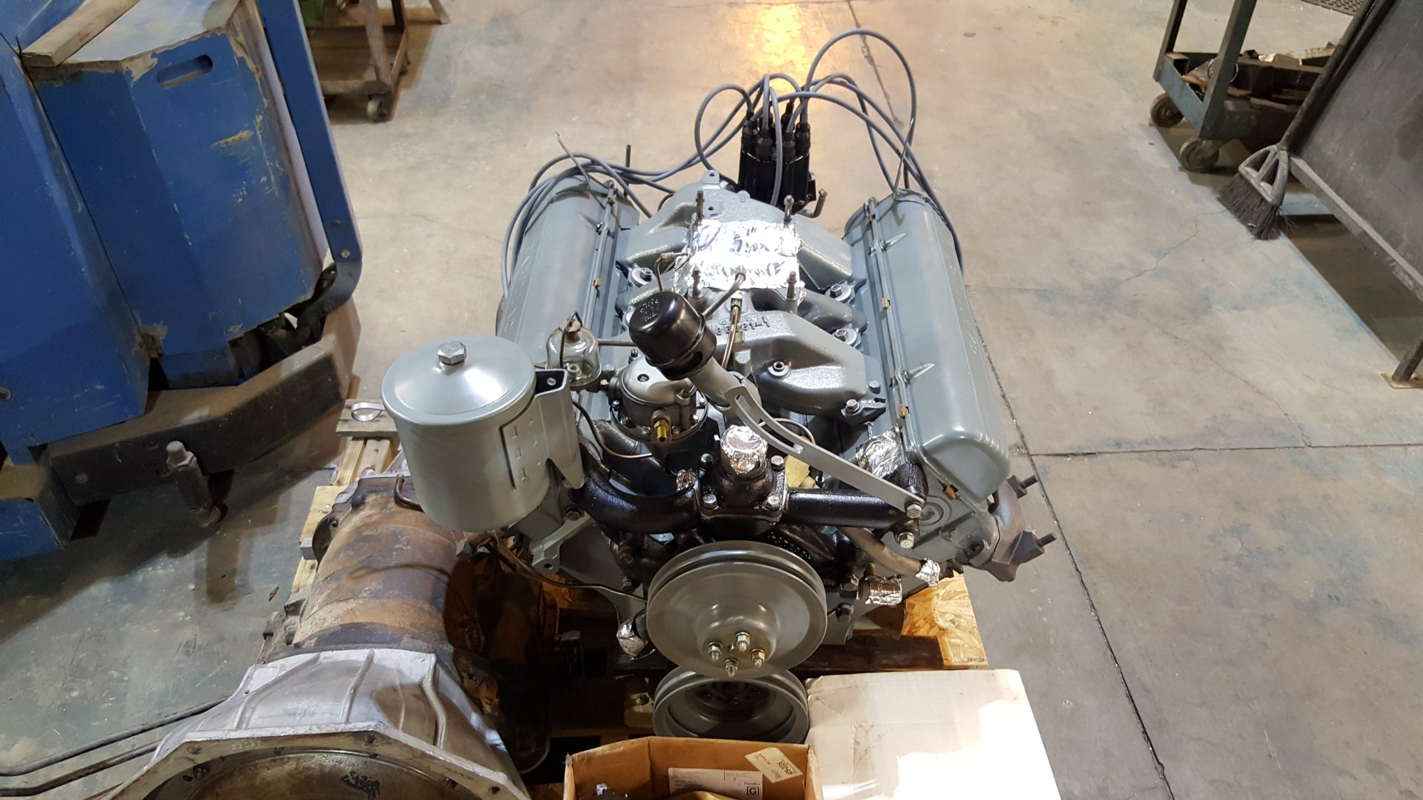 hight resolution of 1957 cadillac 365 v8 engine rebuild and restoration