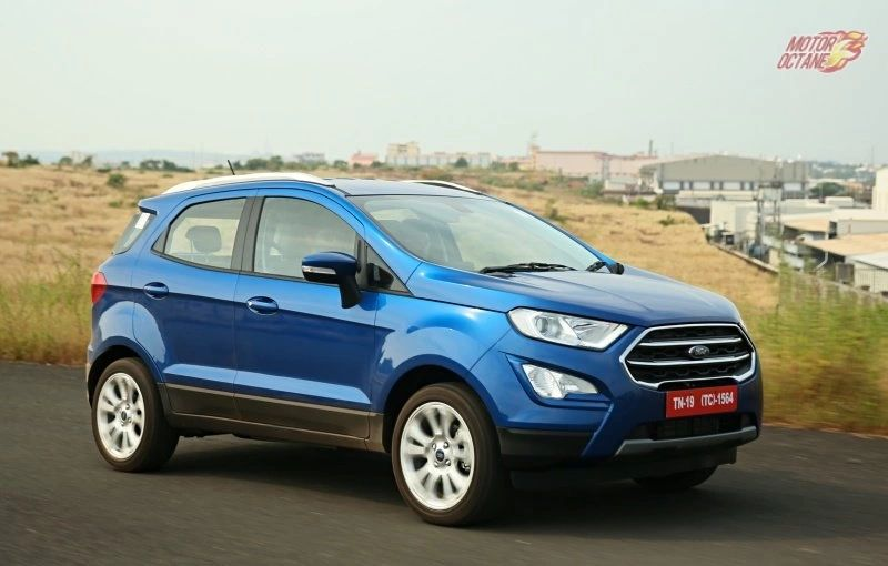 ford ecosport s launched in india prices start at rs 11 37 lakh
