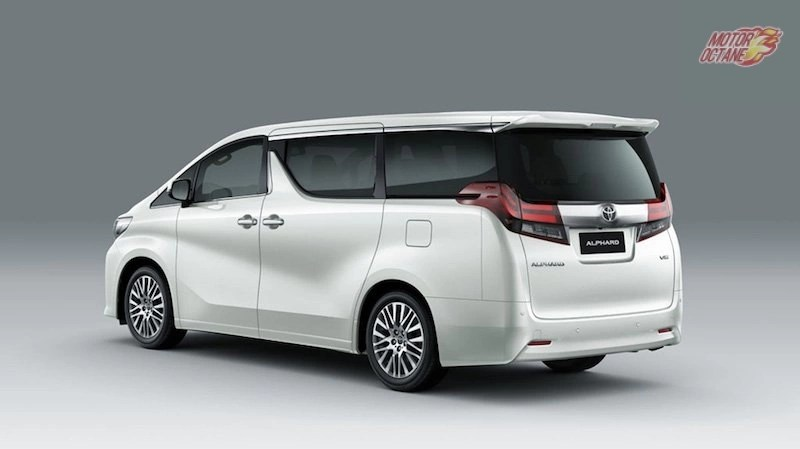 all new alphard 2018 redesign toyota kijang innova 2017 price in india launch date specifications rear
