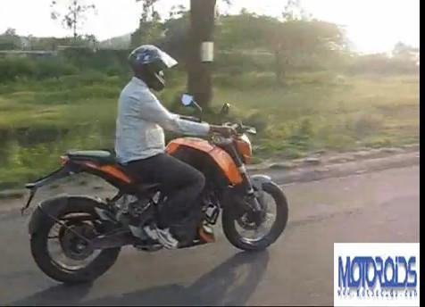 KTM200 Duke India