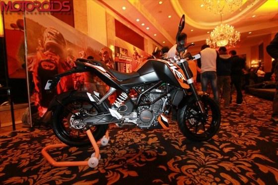 KTM 200 launch