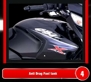 new CBZ Xtreme fuel tank