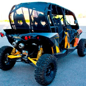 CanAm Maverik Commander Wind Jammer