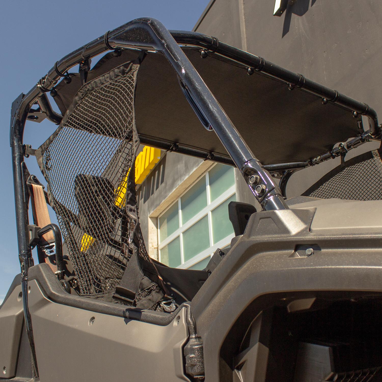 Shade Roof Honda Pioneer 1000 Front Cab Black Motoroof