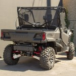 Rear Window Honda Pioneer 1000 Front Cab Black Motoroof