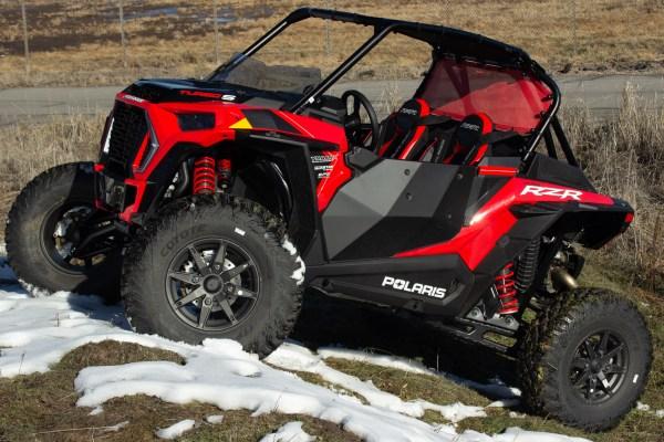 Polaris RZR Turbo S Red