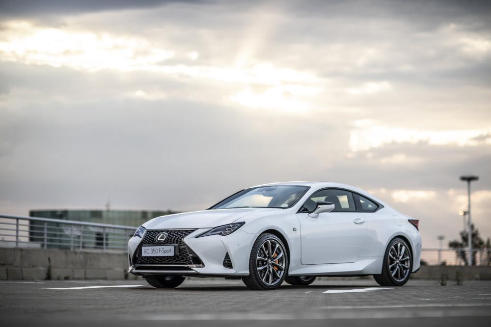 Nuwe Lexus RC nou beskikbaar