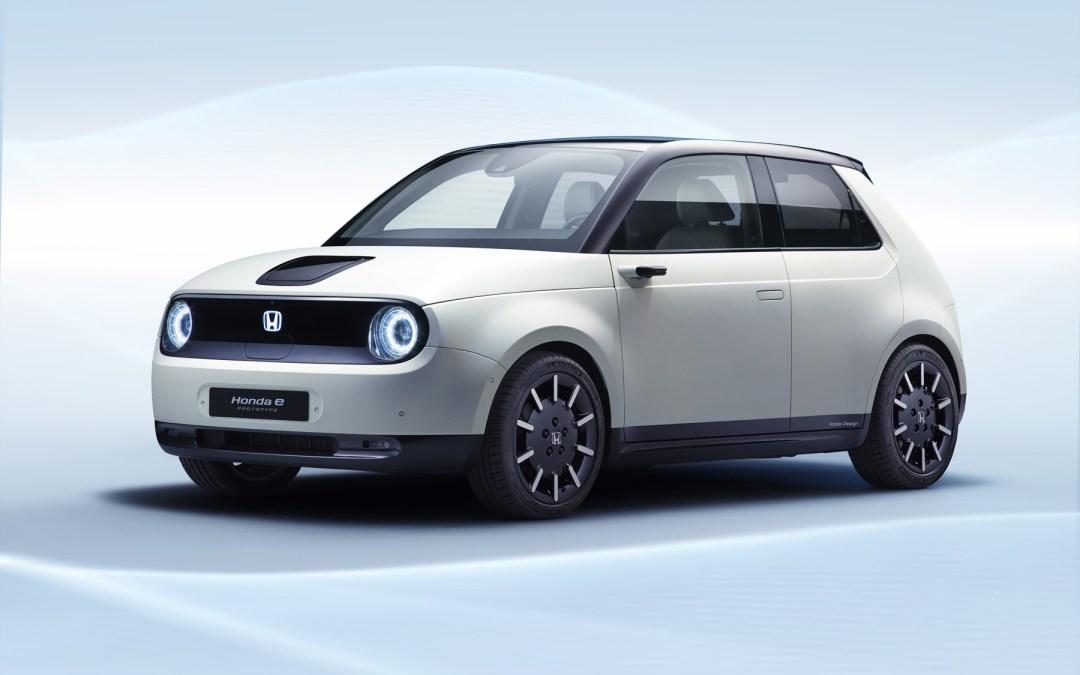 Honda wys sy elektriese stadsmotor