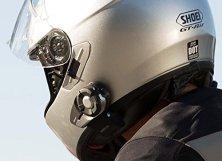 Helm mit SENA Motorrad Kommunikation