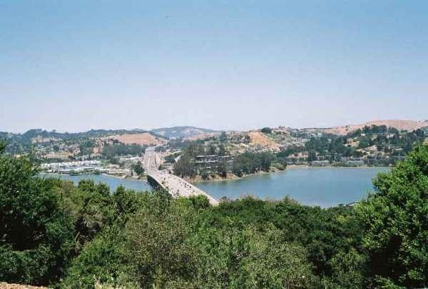 Brücke der CA 101 in Marin County, Kalifornien