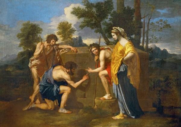 Nicolas Poussin, Et in Arcadia ego