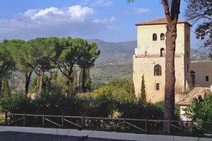 Bild mit einem Panorama-Blick über das Sabinerland