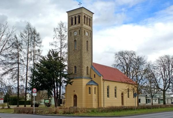 Schinkelsche Normalkirche Germendorf, Landkreis Oberhavel