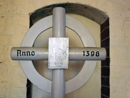 Pilgerkreuz in der Nikolaikirche in Wilsnack