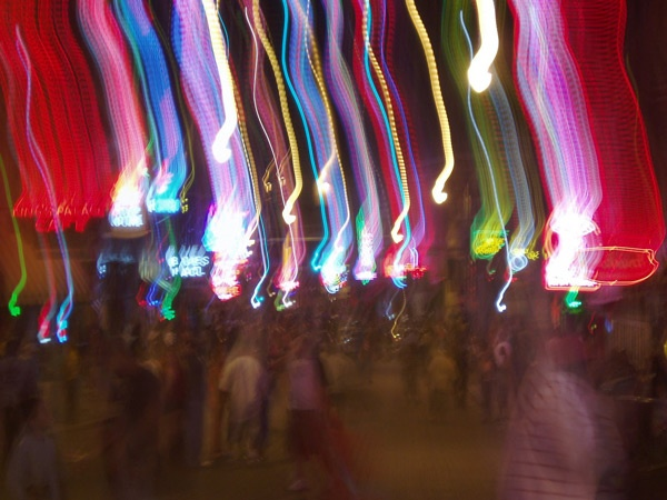 Farbspiele in Memphis, TN
