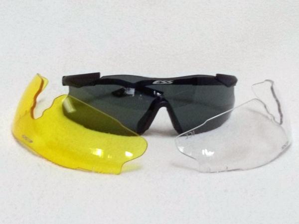 Schutzbrille mit Ersatzscheiben zum Thema: Passende Sonnenblende für den Motorradhelm