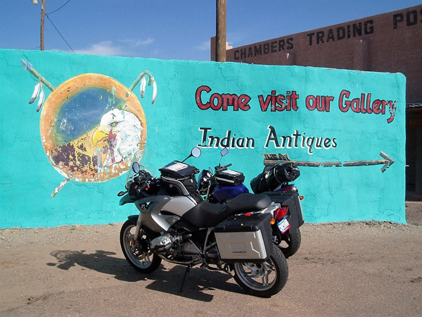 Trading Post im Indianerreservat bei Sanders, AZ