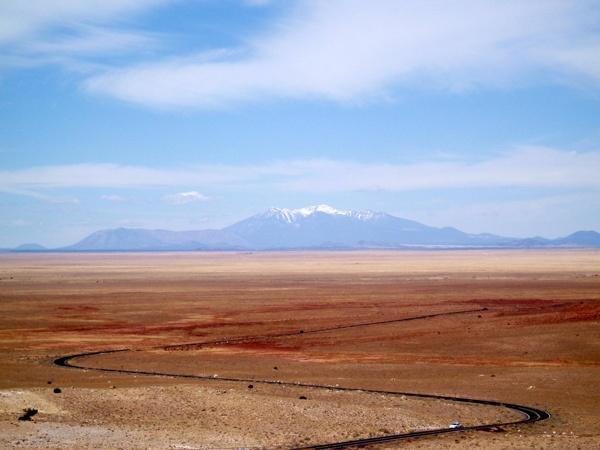 Wüstenlandschaft bei Winslow, NM