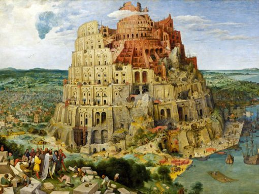 Pieter Breughel: Turmbau zu Babel