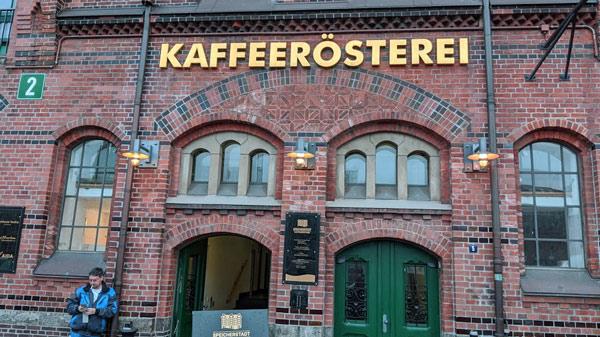 Hamburger Kaffeerösterei in der Speicherstadt