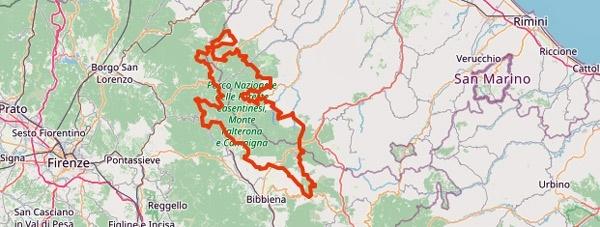 Tourentipps für den Motorradurlaub 2020: die Foreste Casenatenensi