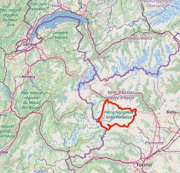 Tourentipps für den Motorradurlaub 2020: der Gran Paradiso in Piemont/Aostatal