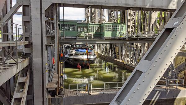 motorrad-kurzurlaub in ostdeutschland am schiffshebewerk niederfinow