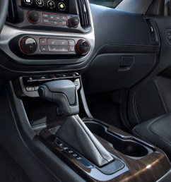 the all new 2015 gmc canyon s high level of customer focused technologies include an eight inch intellilink screen that will feature a new in car app  [ 2056 x 3000 Pixel ]
