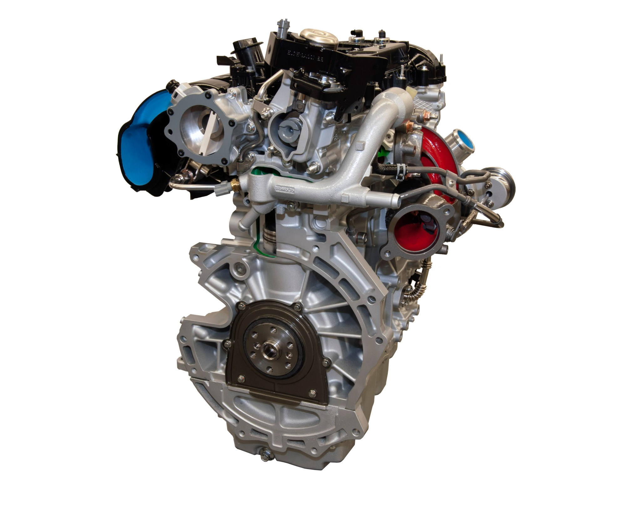 hight resolution of the engine
