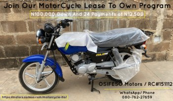 TVS – Lease To Own