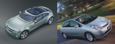Toyota Prius e Chevrolet Volt