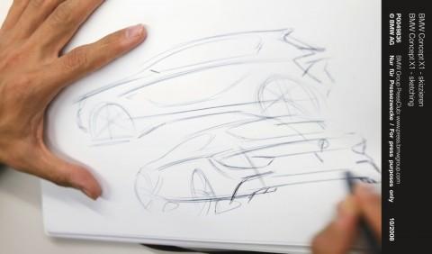 Concepção do X1  iniciando no papel
