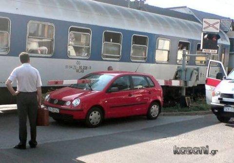 acidentes de carro - tem trem na linha