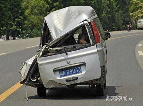 acidentes de carro - atingido por um ovni?