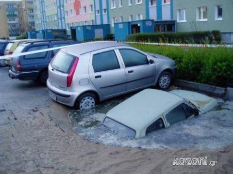 acidentes de carro - anfíbio urbano
