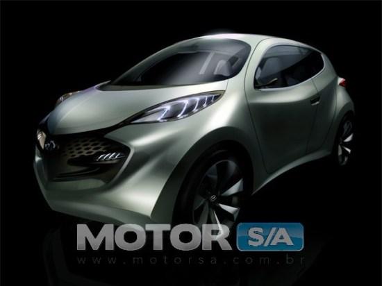 Hyundai iX Metro Projeto HB desenho